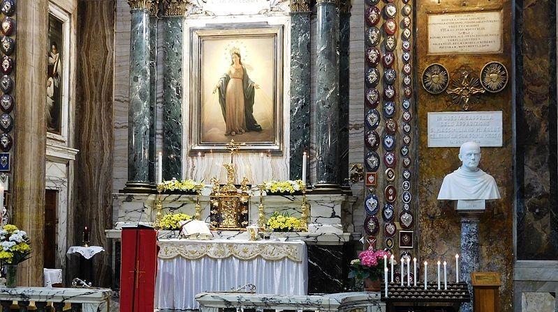 Nostra Signora Del Miracolo Madonna Del Miracolo A Sant Andrea Delle Fratte A Roma