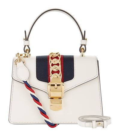 Gucci Sylvie Mini Shoulder Bag available to buy at Harrods. Shop women s  designer bags online and earn Rewards points. 8ad559b716227