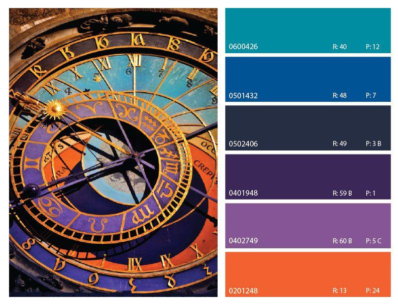 Purple Orange And Blue Color Scheme Color Trends Blue Color Schemes Color Schemes Colour Palettes Orange Color Schemes