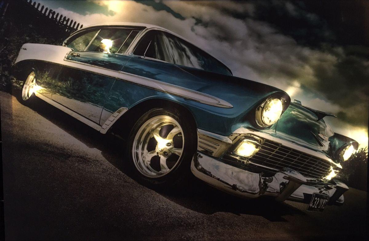 Led Leuchtbild Us Car In 2020 Led Bilder Led Leuchtbilder Bild Mit Beleuchtung