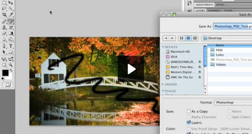 Where does lightroom save files