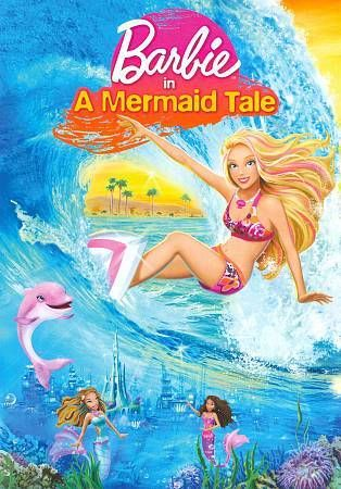 Barbie In A Mermaid Tale Dvd 2010 Con Imagenes Peliculas De