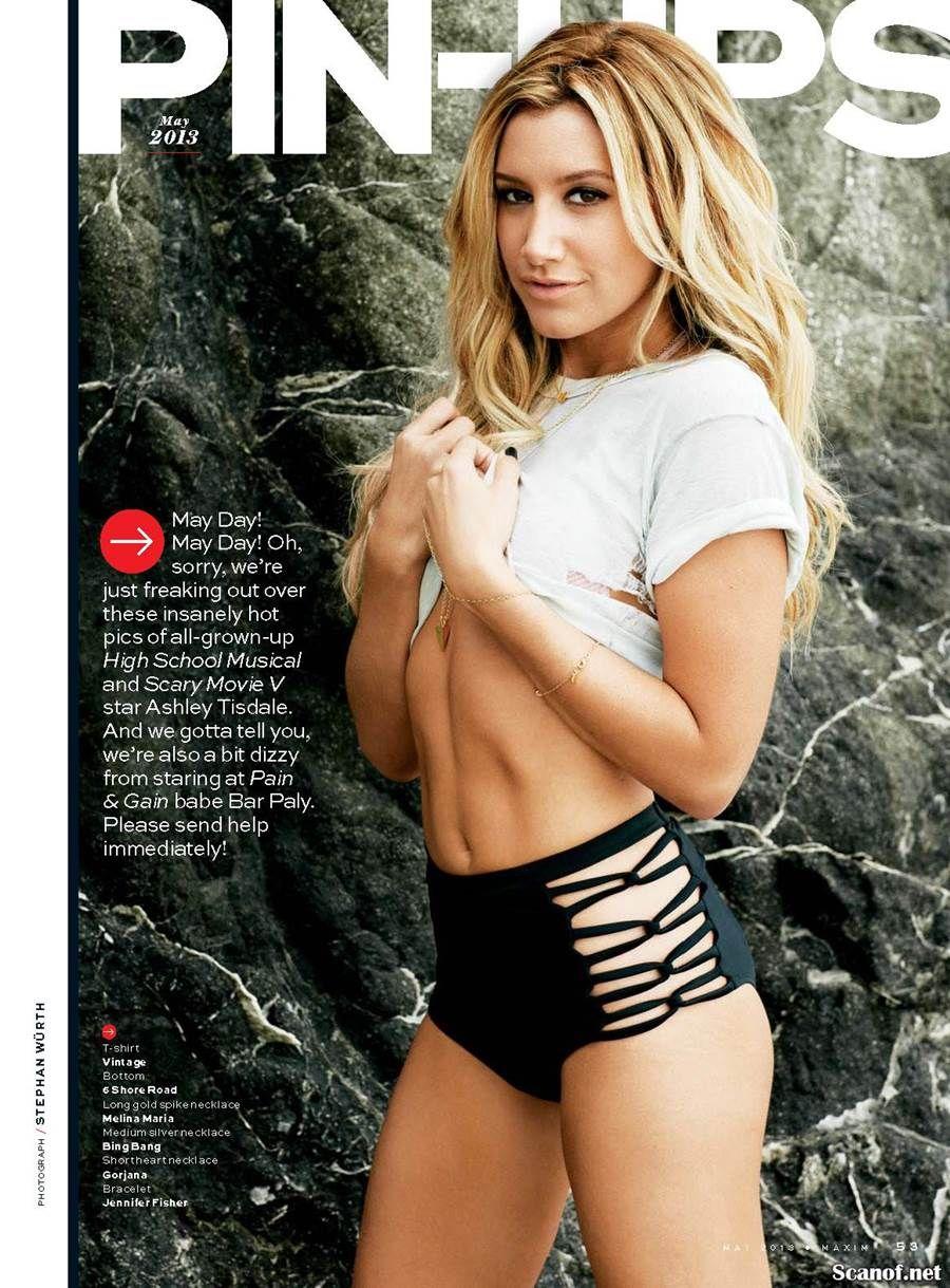 Ashley Tisdale Maxim Magazine 2 People Ashley Tisdale Ashley