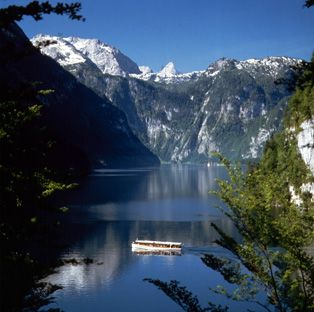 Lake Konigssee, Berchtesgaden, Germany