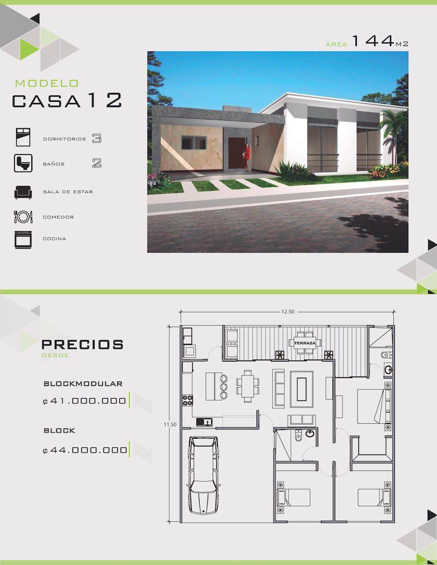 Modelos y dise os de casas de un piso costa rica planos for Casas prefabricadas pequenas