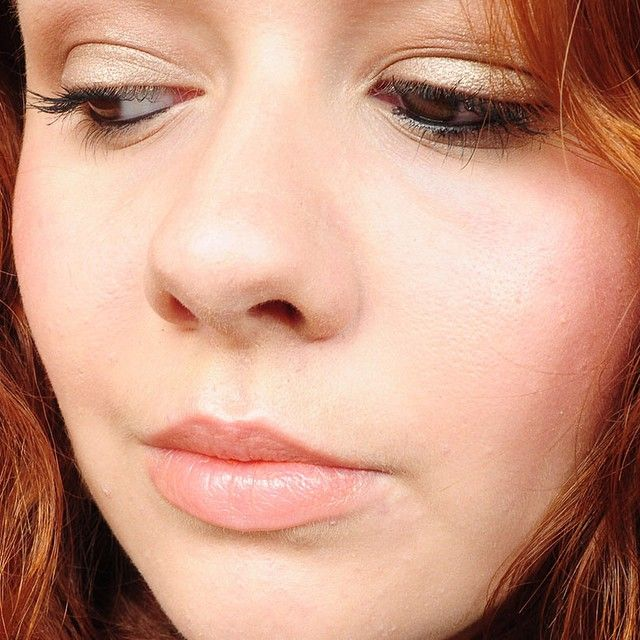 Le joli makeup de l'Attrape Beauté L. !
