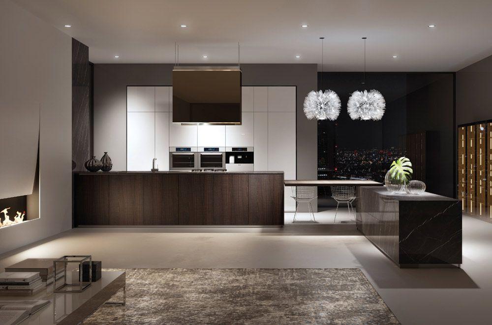 Progettare-cucina-open-space-su-misura | Kitchen | Design ...