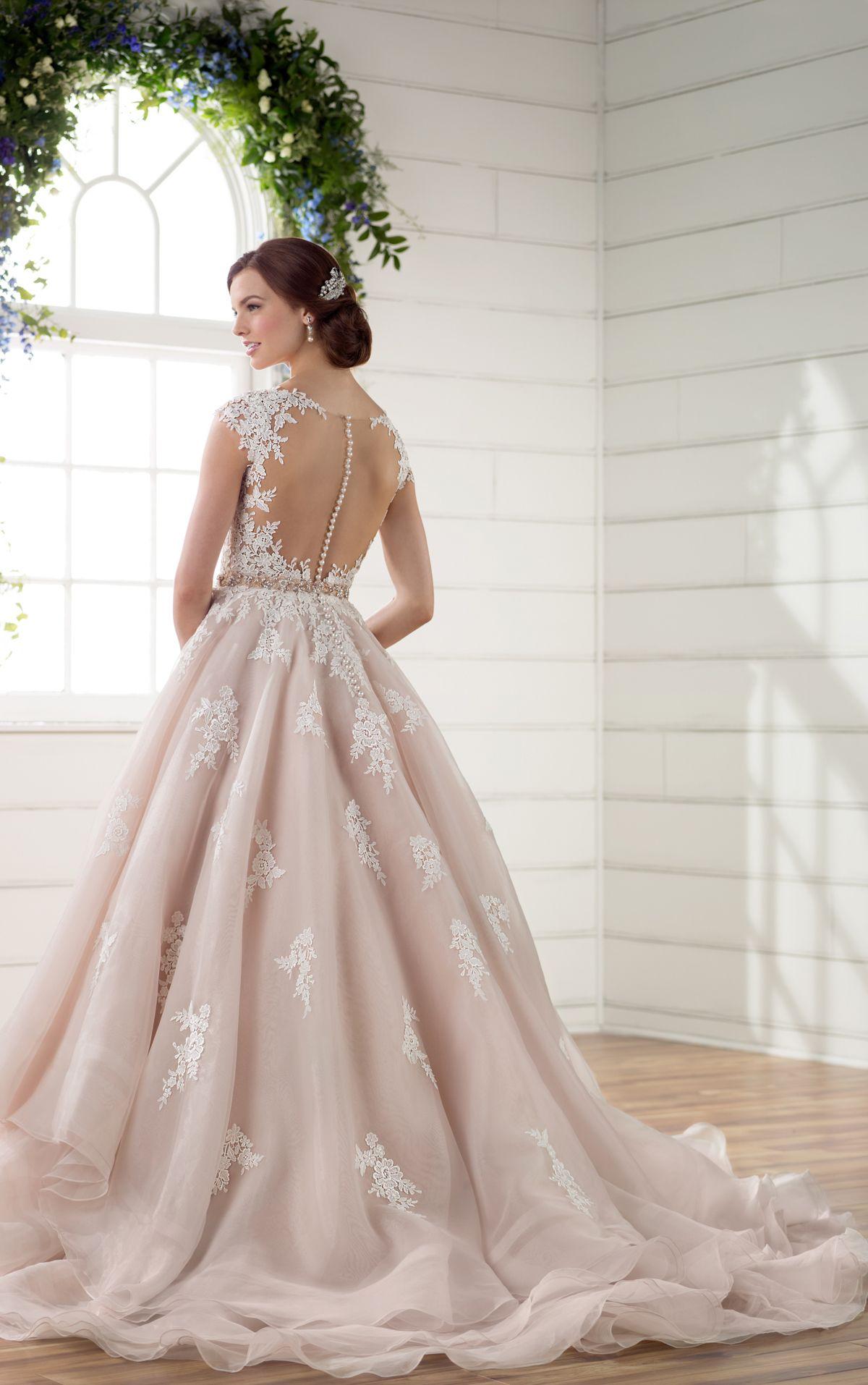 antique lace wedding dress with keyhole back | antique lace, lace