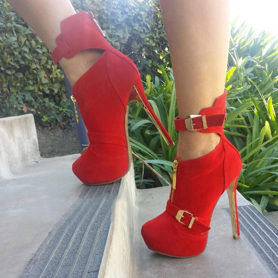 Cheap Sexy Red Heels