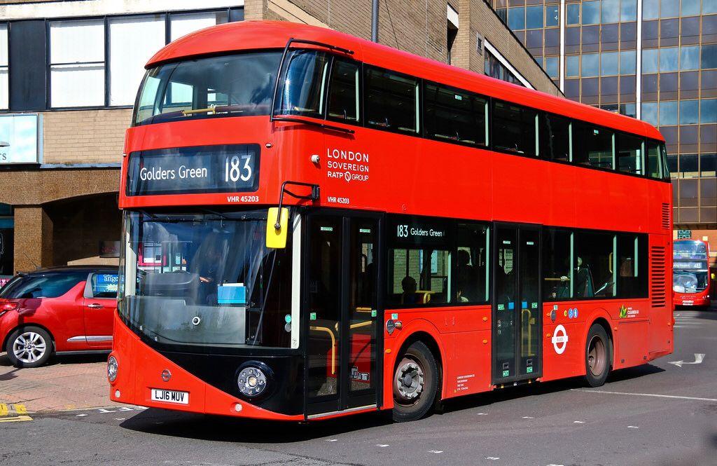 London Sovereign VHR 45203 | buses Londres | London bus
