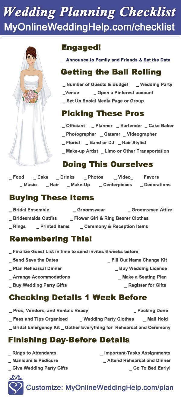 10-Step Wedding Planning Checklist with Timeline