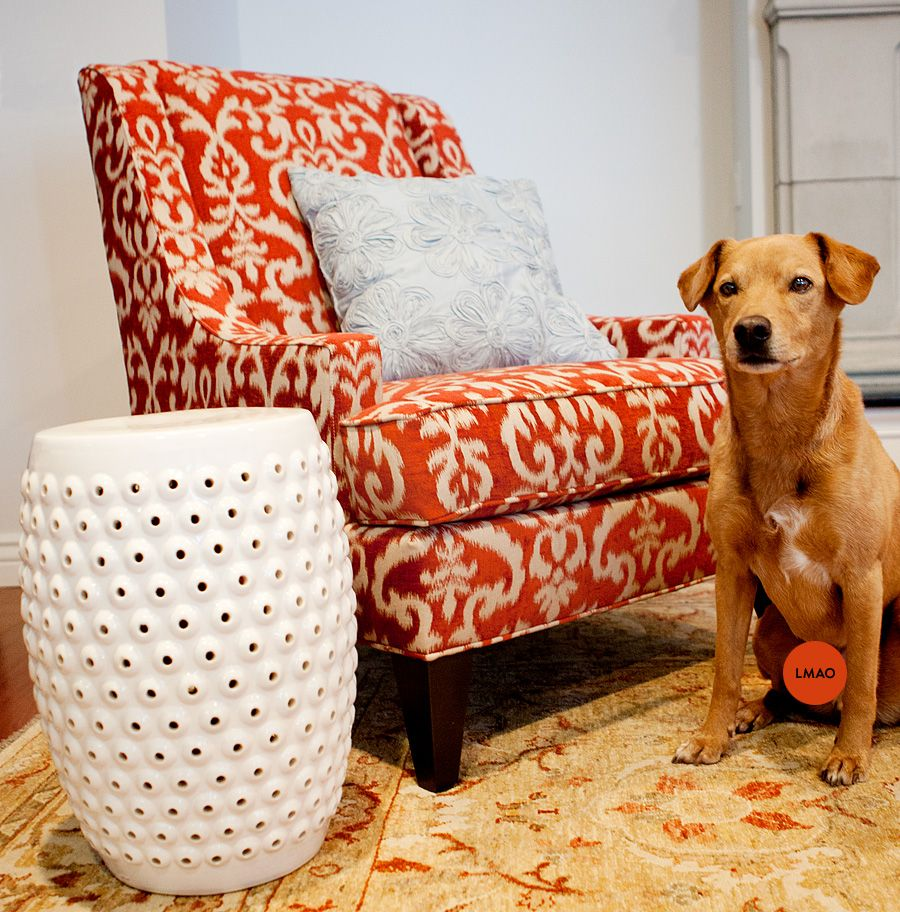 Best Orange Accent Chair So I Ve Been Considering Doing Our 640 x 480