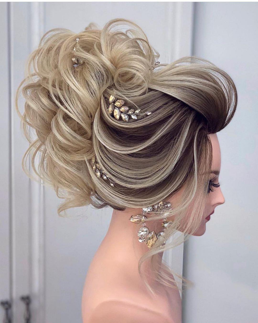 تساريح مكياج Makeup Hair Penteados Penteados Noiva Cabelo Longo Penteados Estilosos