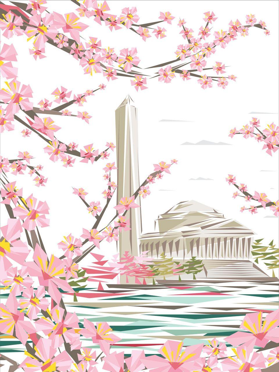 National Cherry Blossom Festival Official 2017 National Cherry Blossom Poster 12 00 Http Www N Cherry Blossom Festival Cherry Blossom Cherry Blossom Dc