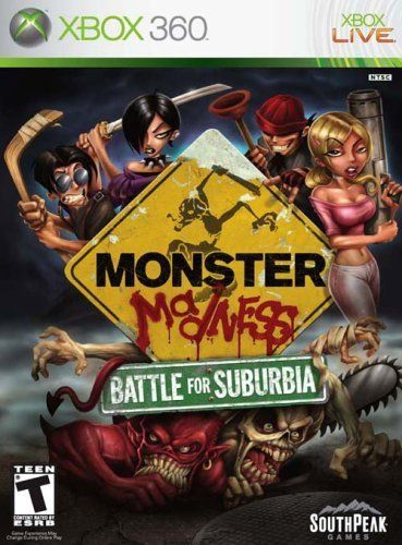 Monster Madness Battle For Suburbia Xbox 360 By Southpeak Games Be