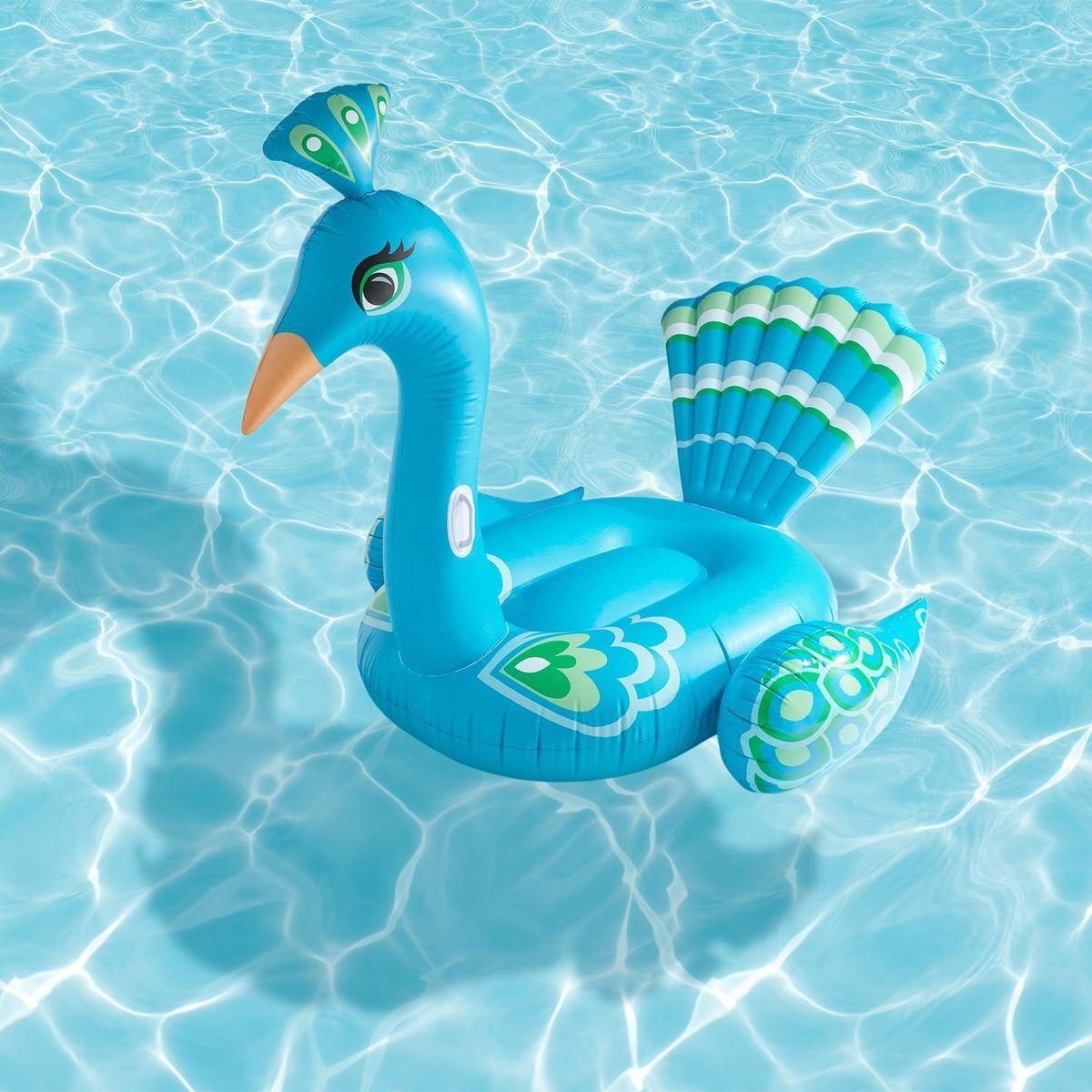 Peacock Pool Float Pool Accessories Pool Designs Pool Float