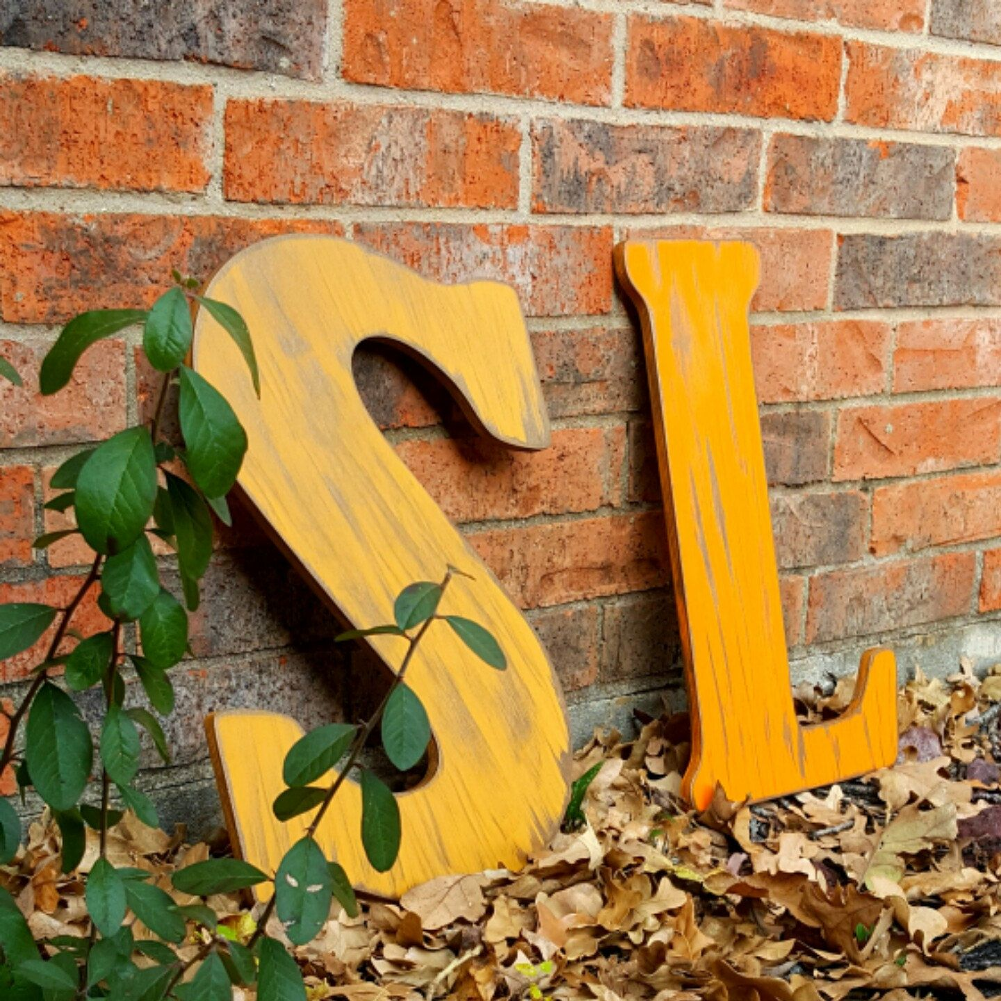 Wood Letter, Wood Initial, Distressed Letter, ANY letter ANY Color ...