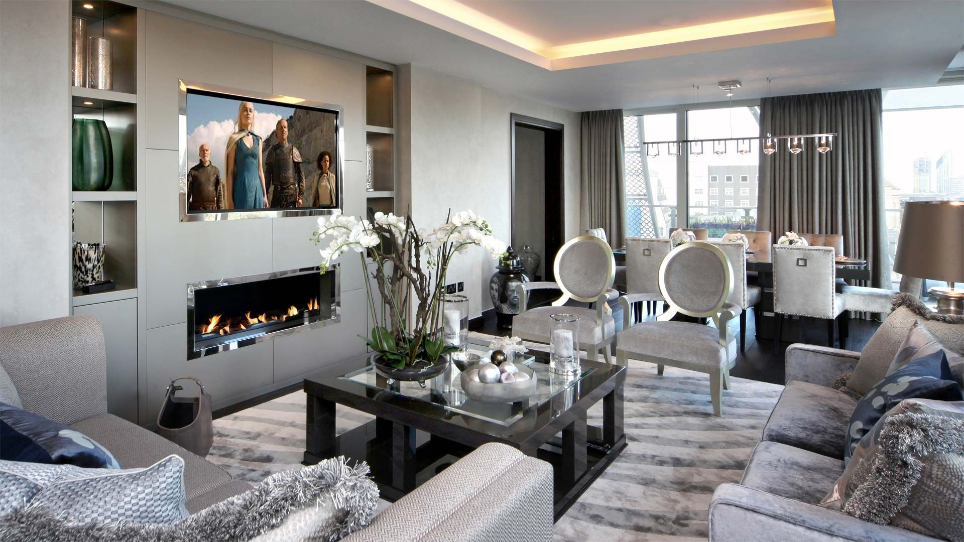 Ordinaire Westminster Penthouse, London Project, Interior Design Portfolio, Hill  House Interiors Are A London Based Interior Design Company With A Showroom  In Elystan ...