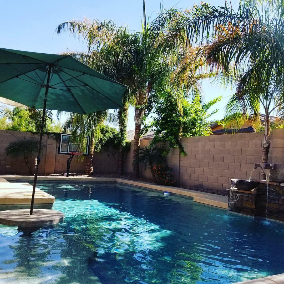 Ventura backyard in october california in 2019 pool for Pool design ventura