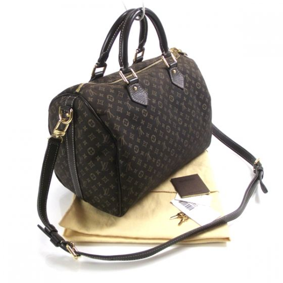 I have the Mini Lin Speedy 30 in Ebene.  Looks almost like this but no strap.  <3