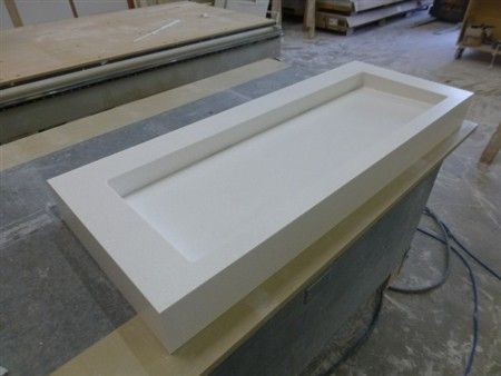 corian trough sink the fabricator network forum fabrication