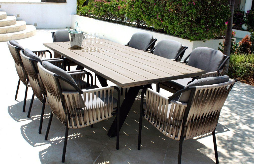 Skyline Chatham Outdoor Dining Table Rectangular 8 Seater