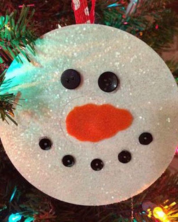 15 Last-Minute-DIY-Weihnachtsschmuck aus alten CD-Discs #recycledcd