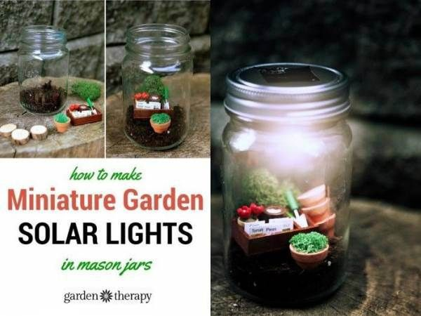 Amazing Adorable Miniature Garden Solar Lights