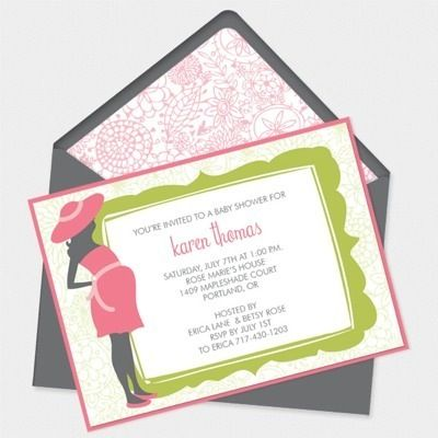 free Baby Shower Invitation Template – Bun in the Oven Design | baby ...