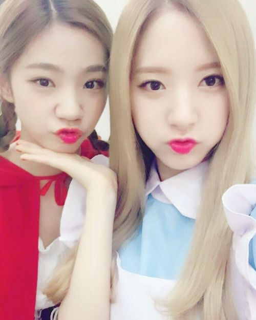 WJSN ♡ Yeoreum 여름 & Bona cosplay 'Would You Like?' Promotions #우주소녀 #우주LIKE소녀