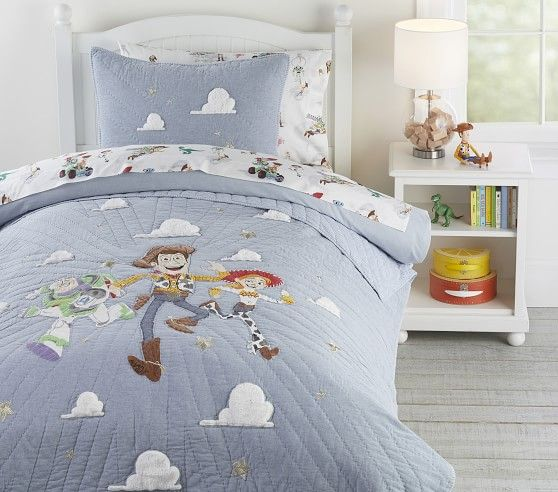 Disney And Pixar Toy Story Quilt Twin Multi In 2020