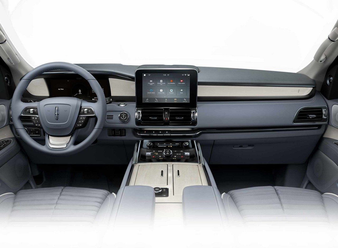 Lincoln Black Label >> An Interior Image Of A Lincoln Black Label Navigator Seen In The