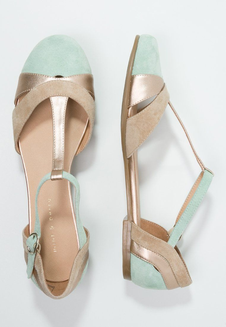 new concept 032db 1177d Ballerine con cinturino - mint/rose-gold/beige @ Zalando.it ...