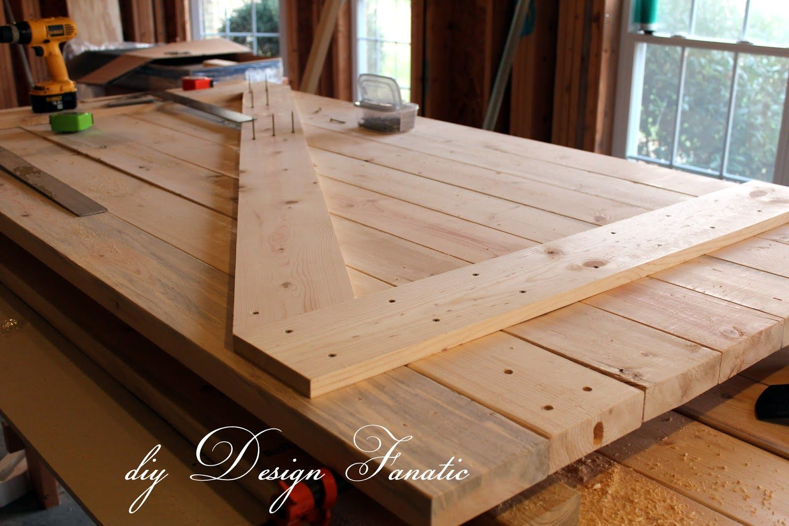 Diy Barn Doors For The Home Diy Barn Door Making Barn
