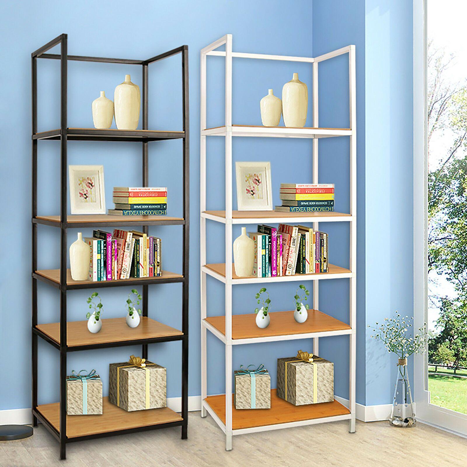 5 Tier Shelf Unit Home Office Lounge