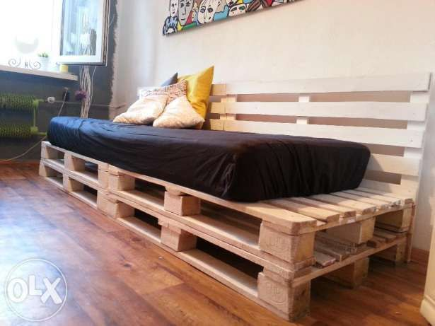 Lozko Z Euro Palet Materac D Piekary Slaskie Image 1 Furniture Home Decor Outdoor Decor