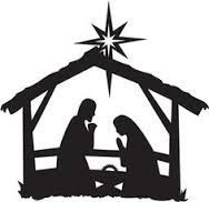 picture about Nativity Scene Silhouette Printable known as Purpose for the Year Nativity Xmas arts and crafts