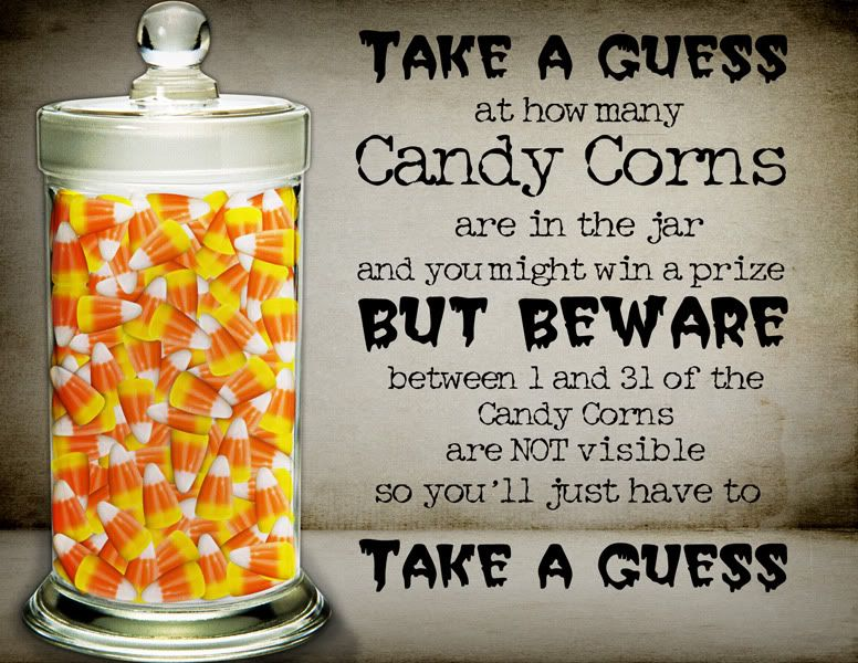 Image Result For Guess How Many In The Jar Halloween New Place