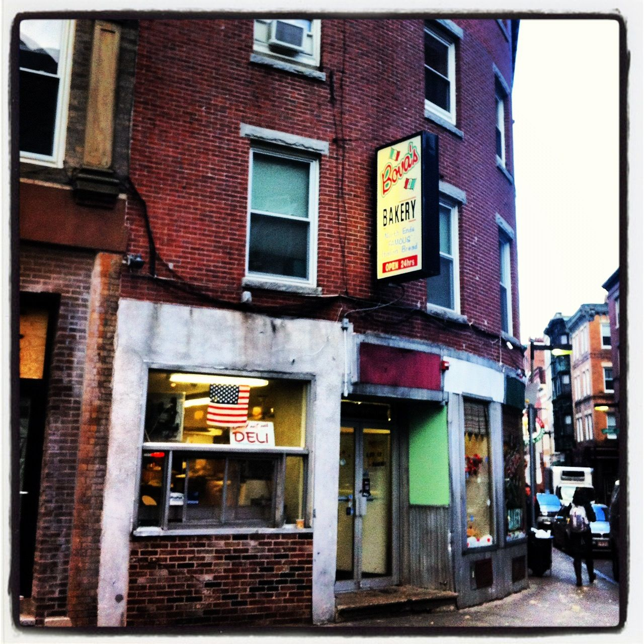 What Famous Movie used this North End Bakery in it? Fever