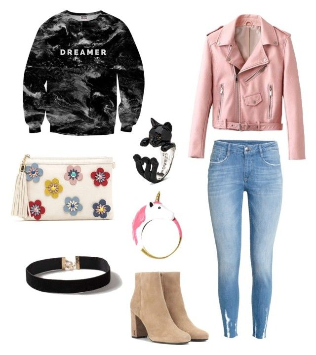 Holly gostylish by oliverthoreau on Polyvore featuring polyvore, fashion, style, Mr. Gugu & Miss Go, H&M, Yves Saint Laurent, Dorothy Perkins and clothing