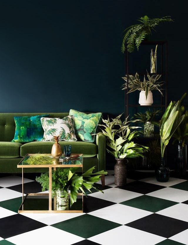 Woontrend van 2016: Botanical Home | Interiors, Living rooms and Room