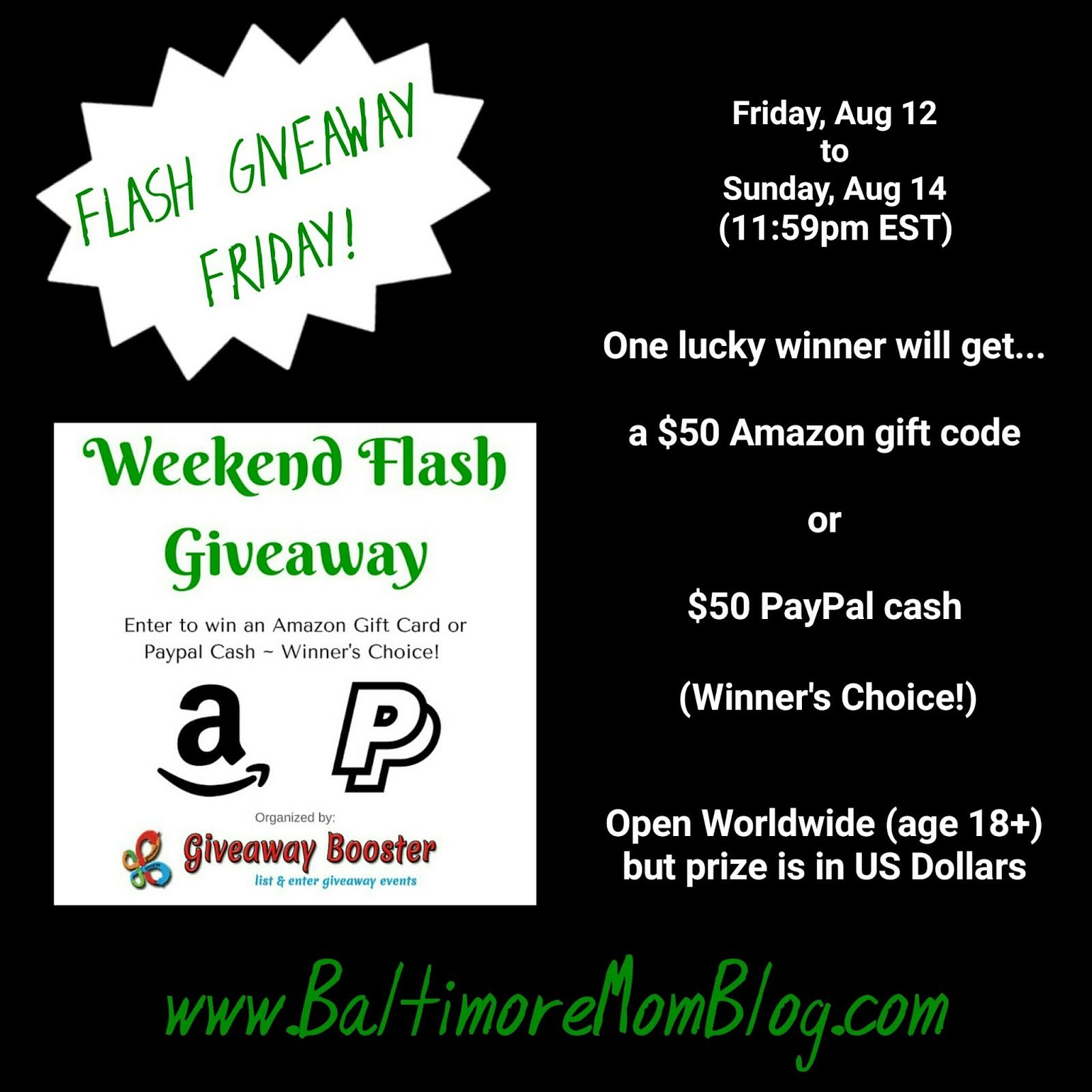50 flash giveaway enter daily win a 50 amazon gift
