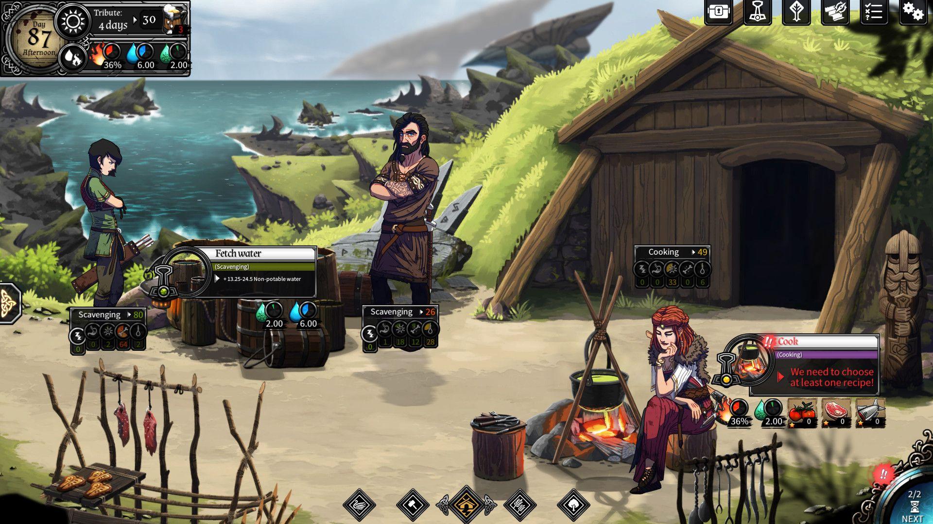 Dead In Vinland on Steam Adventure games, Rafting, Battle