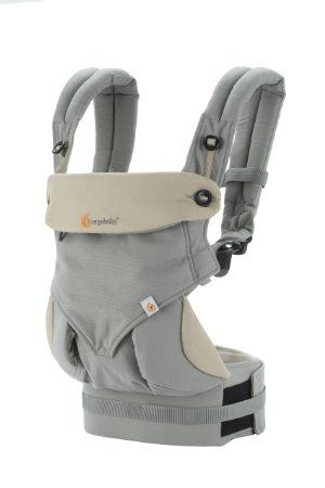 Amazon ERGObaby Four Position 360 Baby Carrier Grey