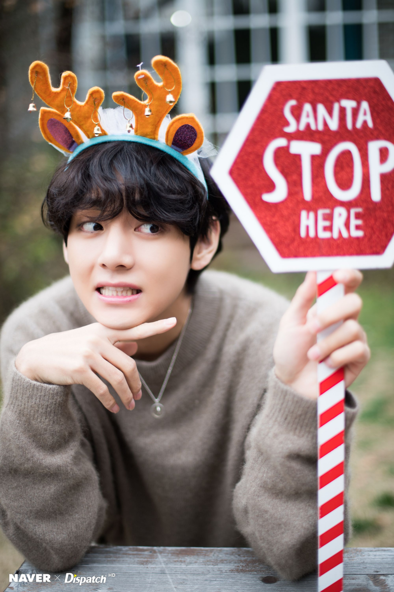 191225 BTS V Christmas photoshoot by Naver x Dispatch. in 2020