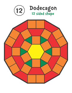 Shapes Pattern Blocks Pattern Block Templates Pattern Block