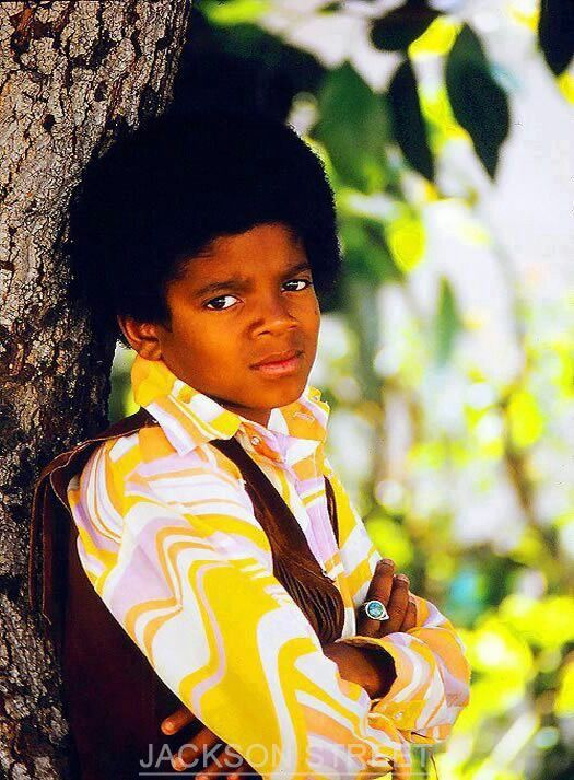 Michael Jackson wants to know what you are looking at