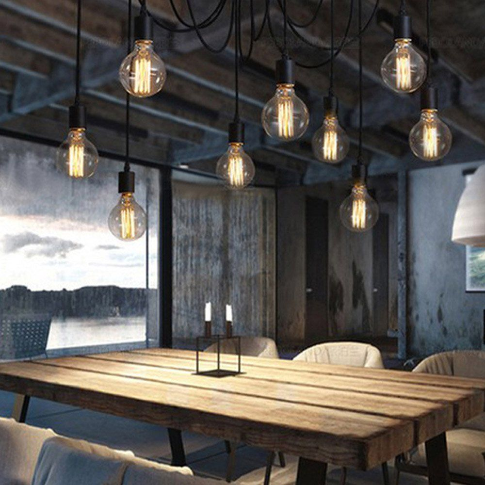 industrial style edison vintage retro gl hlampe industrie filament nostalgie gl hbirne bulb. Black Bedroom Furniture Sets. Home Design Ideas