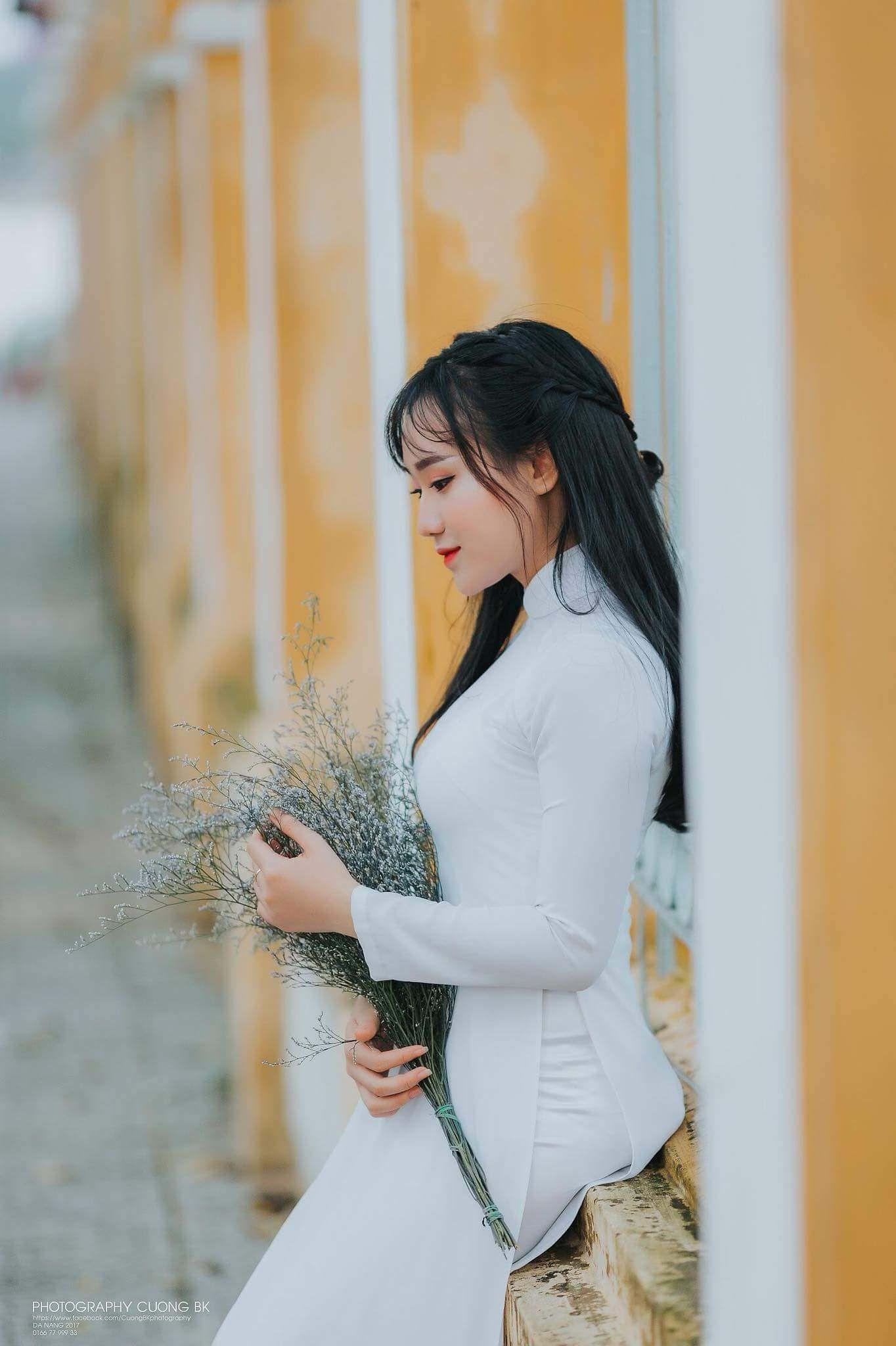 Vietnamese long dress favorite pinterest ao dai asian and