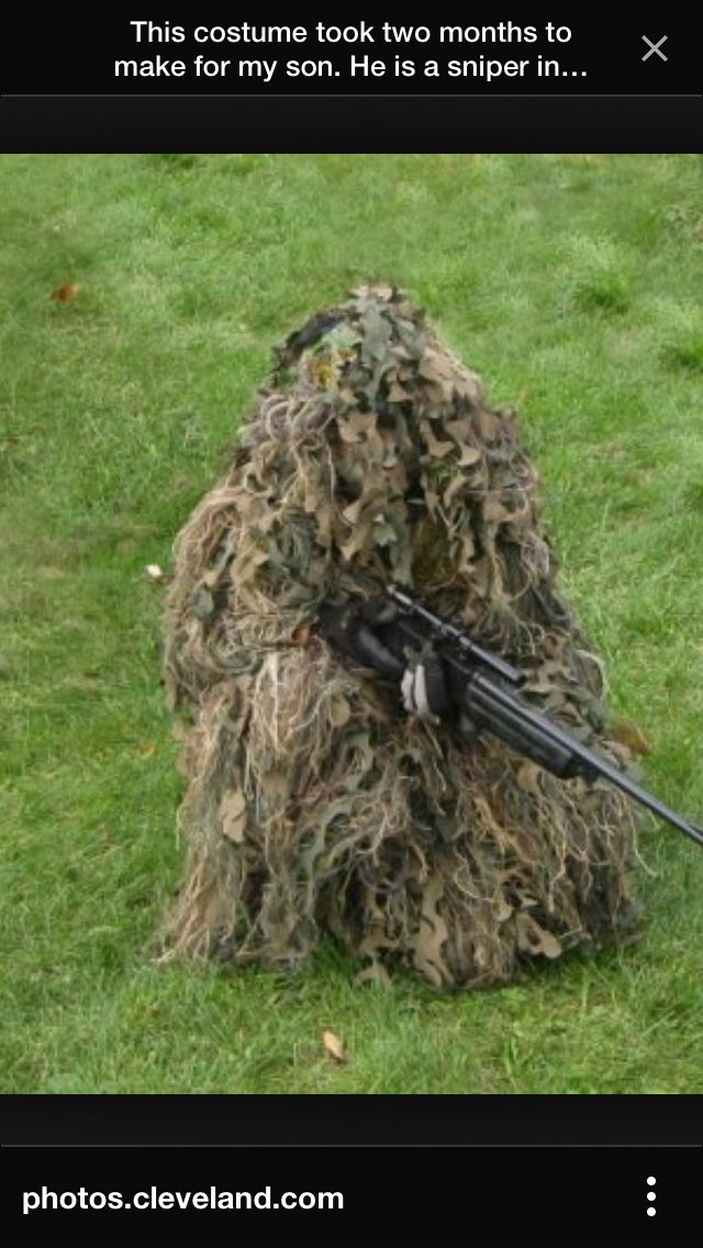 b4caf19c Sniper costume | Holiday Ideas-Halloween Costume | Costumes ...